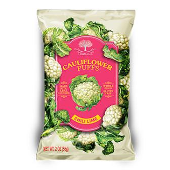 Temole Cauliflower Puffs- Chili & Lime 1x56Gm