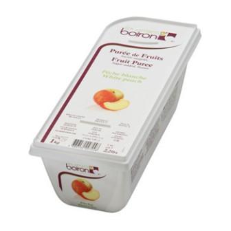 Boiron Frozen White Peach Fruit Puree 1X1kg