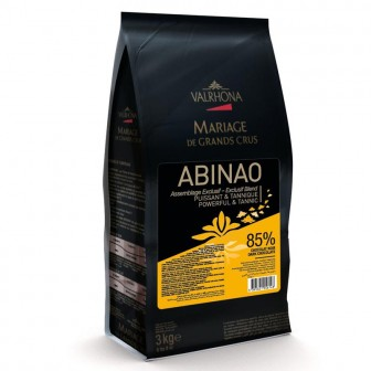 Valrhona Abinao Dark 85% Coins 1X3kg