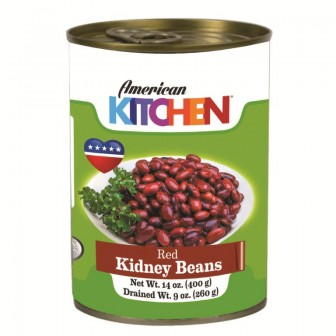 American Kitchen Red Kidney Beans 1X400gm