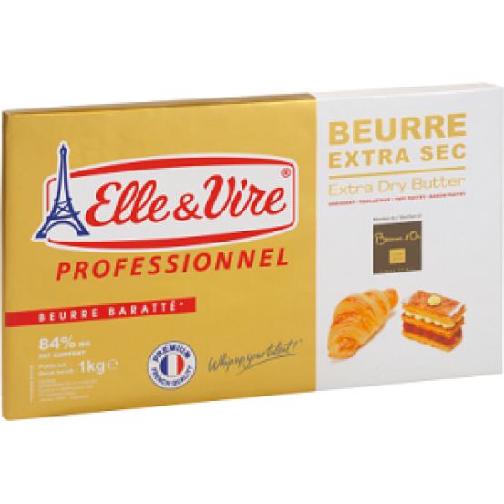 Elle & Vire Croissant/dry Butter