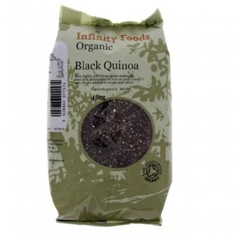 Quinoa Black (organic) 1X450gm