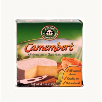 Camembert Cheese in Tin 1X125gm