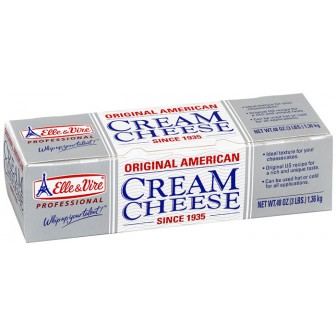 Elle & Vire American Cream Cheese 1X1.36kg