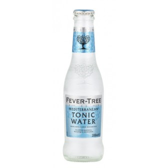Fever Tree Mediterranean Tonic Water 24pcs of 200 ml