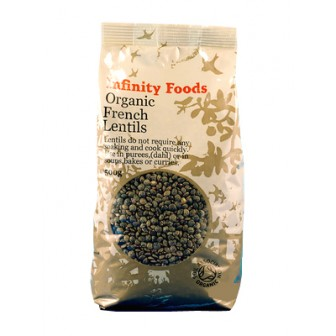 French Lentils (organic) 1X500gm