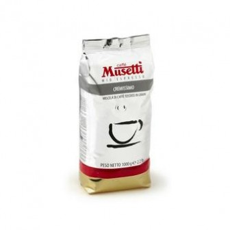 Musetti Coffee Beans Cremissimo 1X1kg