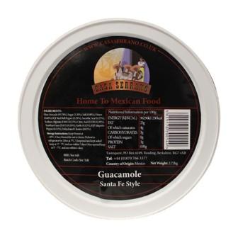 Guacamole Santa Fe-Style (frozen) 1X500gm