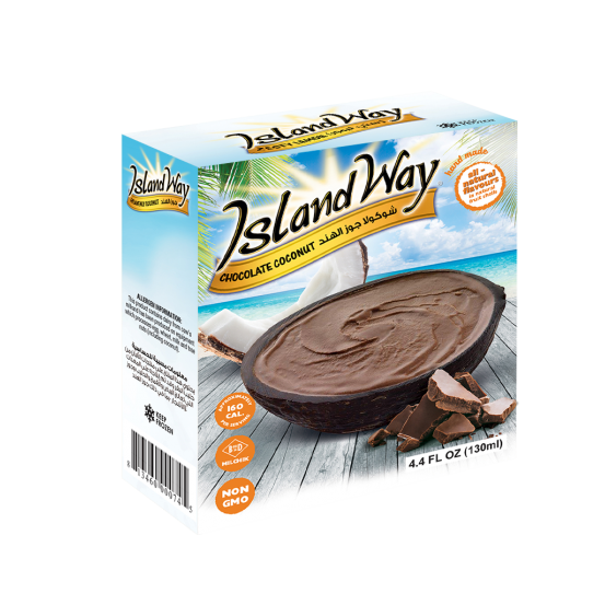 Island Way Chocolate Coconut 1x145ml