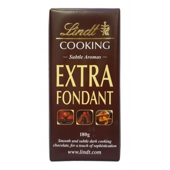 Lindt Cooking Extra Fondant 1X180gm