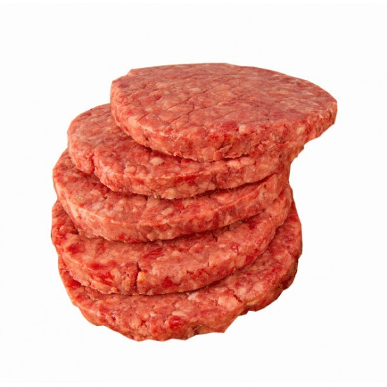 Regular  Beef Burger Frozen 6x150Gm