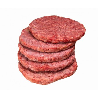 Usa Certified Angus Beef®  Burgers Frozen 6x150gm