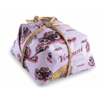 Black Cherry Panettone 1x750Gm