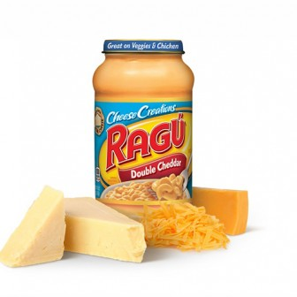 Ragu Double Cheddar Cheese White  1X453g