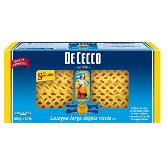 De Cecco Lasagna Semola #1 1X500gm