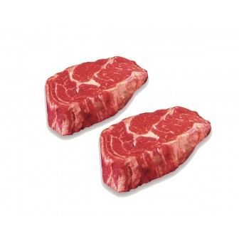 Usa Certified Angus Beef® Rib Eye Steak Chilled 2x300gm